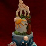 Under The Sea Safari Birthday Celebration Cake