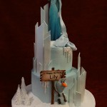 Disney frozen Birthday Celebration Cake