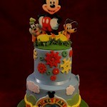 Diesney Mickey Mouse Novelty Birthday Celebration Cake