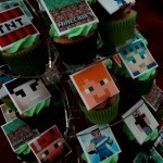 Minecraft Cupcakes and Minecraft Cupcake Tower