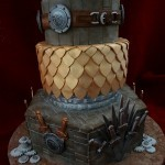 The Game Of Thrones Birthday Celebration Cake