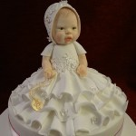 Christening Baby Shower Naming Ceromony Celebration Cake