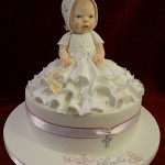 Christening Baby Shower Celebration Cake