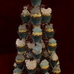 Christening Celebration Baby Shower Cupcake Cupcakes Tower