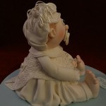 Christening Baby Naming Ceromony Celebration Cake