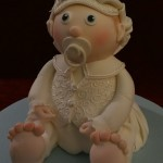 Christening Baby Shower Naming Ceremony Celebration cake
