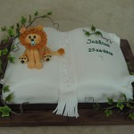 Christening Celebration Jungle Book Cake