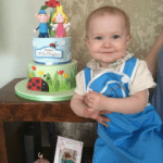 Ben and Holly 1st Birthday Celebfration Cake