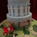 Peter Rabbit Mr Fisher Birthday Celebration Cake