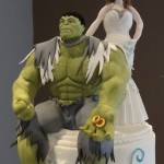 Bride and The Marvel Incredible Hulk