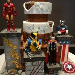 Marvel Superhero Wedding Cake