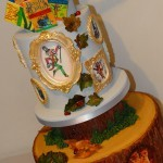 Roald Dahl Fantastic Mr Fox BFG Big friendly Giant Woodland Theme Birthday Celebration Cake