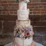 Country Style Rustic Barn Wedding Cakes